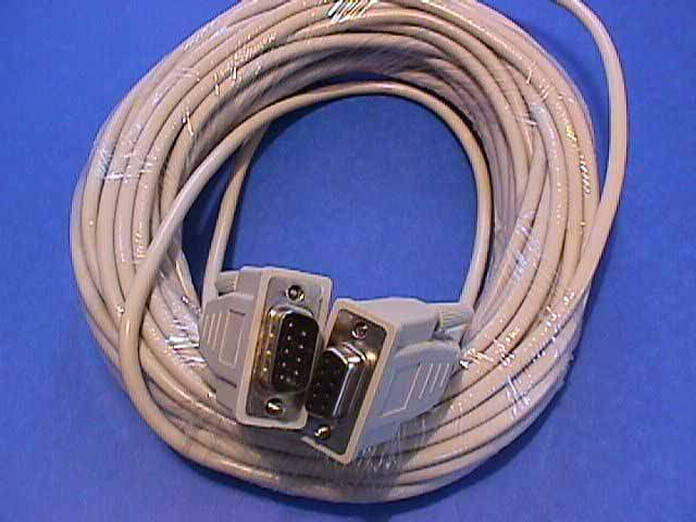 50FT DB9M to DB9F SERIAL CABLE