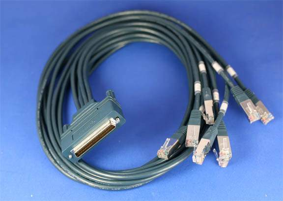 DB68 CAB-OCTAL-ASYNC ROUTER Cable 3FT
