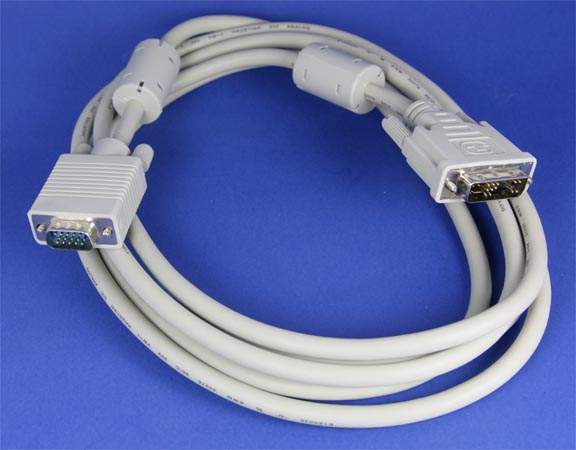 DVI-A to SVGA Cable 3M 10FT