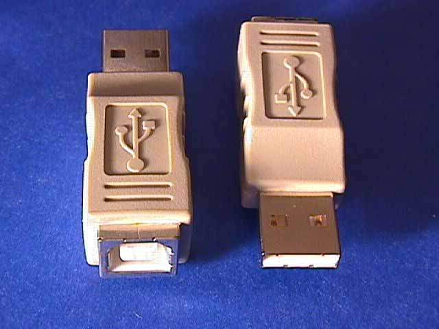 USB GENDER CHANGER TYPE A Male to TYPE B Female ADAPTER