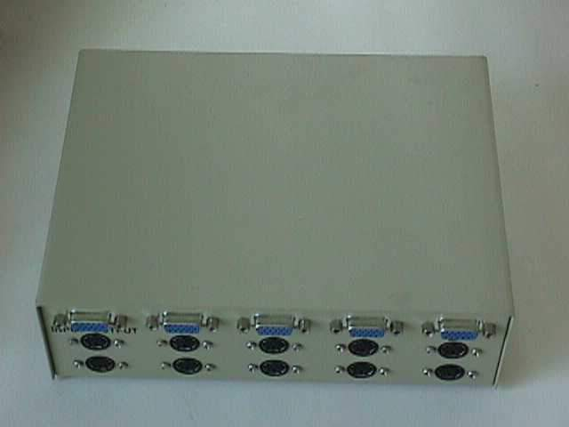 VGA PS2-Keyboard PS2-Mouse ABCD Switch Manual